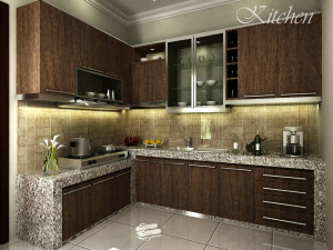 Modern Kitchen Design 16 HD Wallpaper