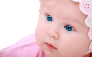 Blue Eyes Cute baby