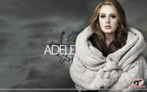 Free Adele Wallpaper Background