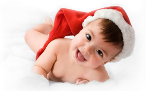 Smiling Funny Baby Wallpaper