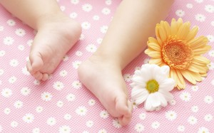 Baby Foot Wallpaper HD